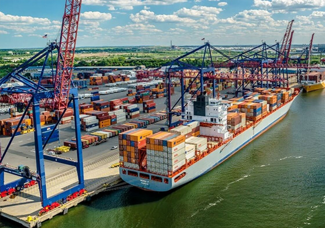 Amerika'nın en büyük limanında Türk şirket!