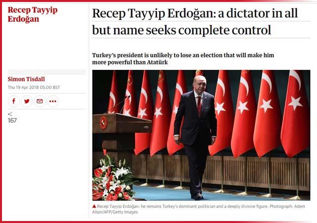 İngiliz The Guardian Mustafa Kemal'e diktatör dedi