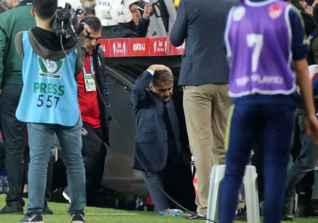 Olaylı maç için Erdoğan kumpas dedi