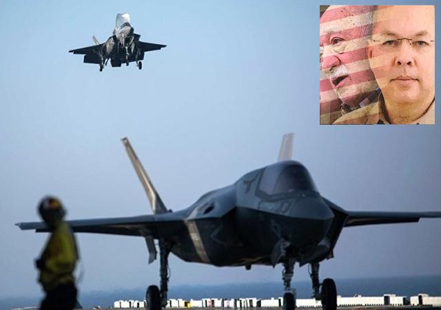 Papazı vermezsen F-35'leri vermeyiz kanunu