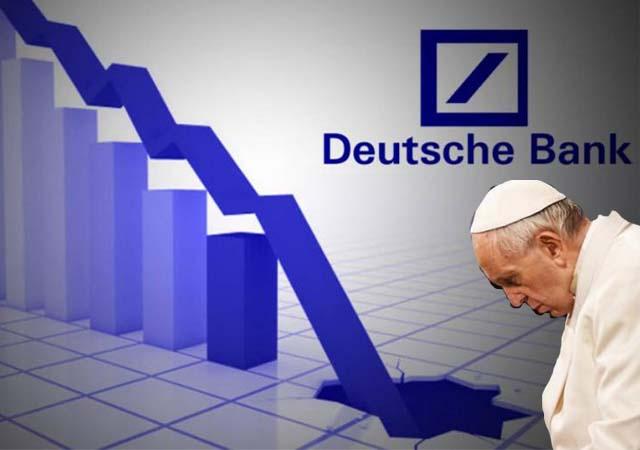 Deutsche Bank batıyor, Vatikan'ın paraları ne olacak