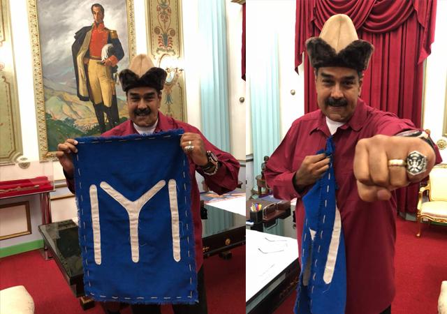 Maduro'dan Diriliş Ertuğrul'a ilgi