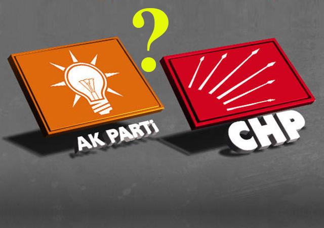 İşte CHP ile AK Parti arasındaki 'fark'