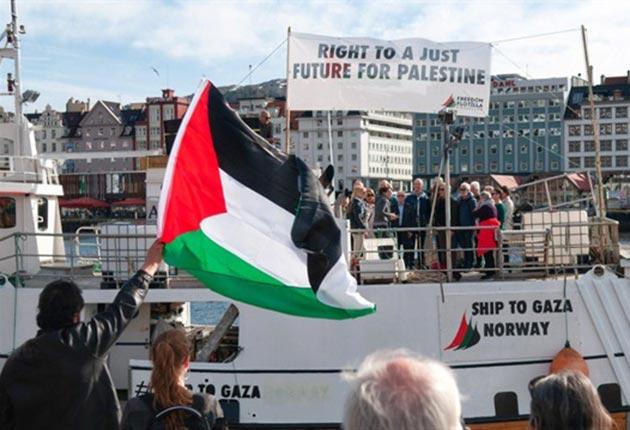 'Gazze'ye özgürlük filosu' Almanya'da