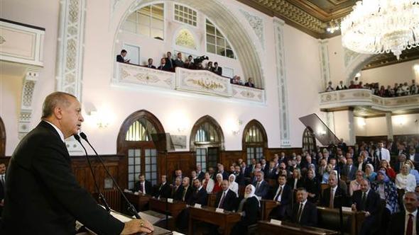 Kabine ve milletvekilleri 1. Meclis'te toplandı