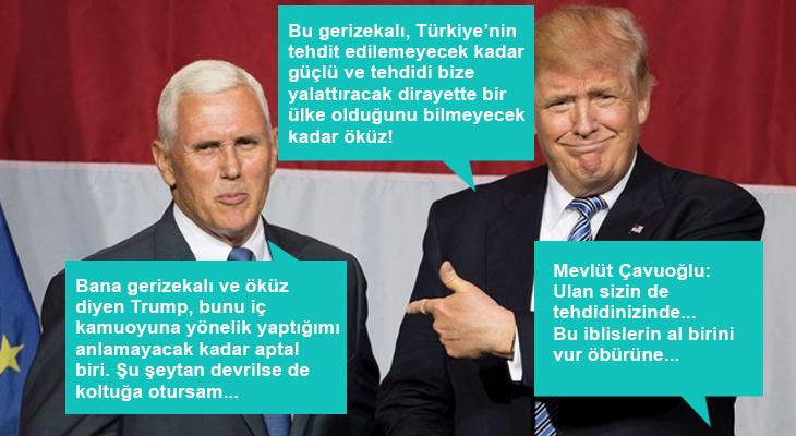 Sarı şeytan ve sessiz sapık Mike'a Türkiye'den sert tepki