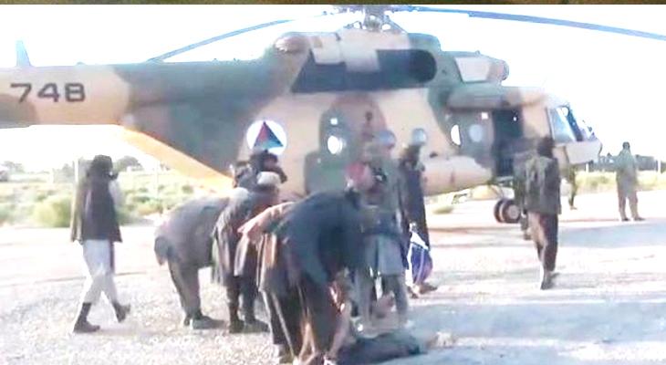 Amerika, Afganistan'daki DAEŞ'li teröristleri kurtardı