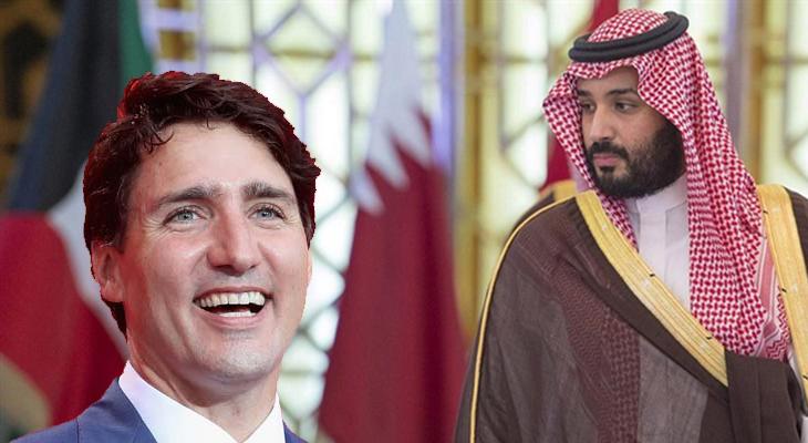 Kanada, Suudi Arabistan'a meydan okudu