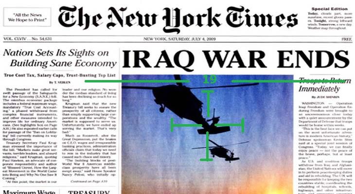Meğer SİHA'lar New York Times'ı vurmuş