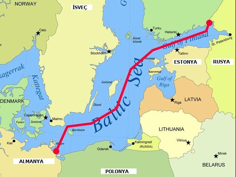 Almanya, ABD karşı diye Kuzey Akım 2'den vazgeçmeyecek