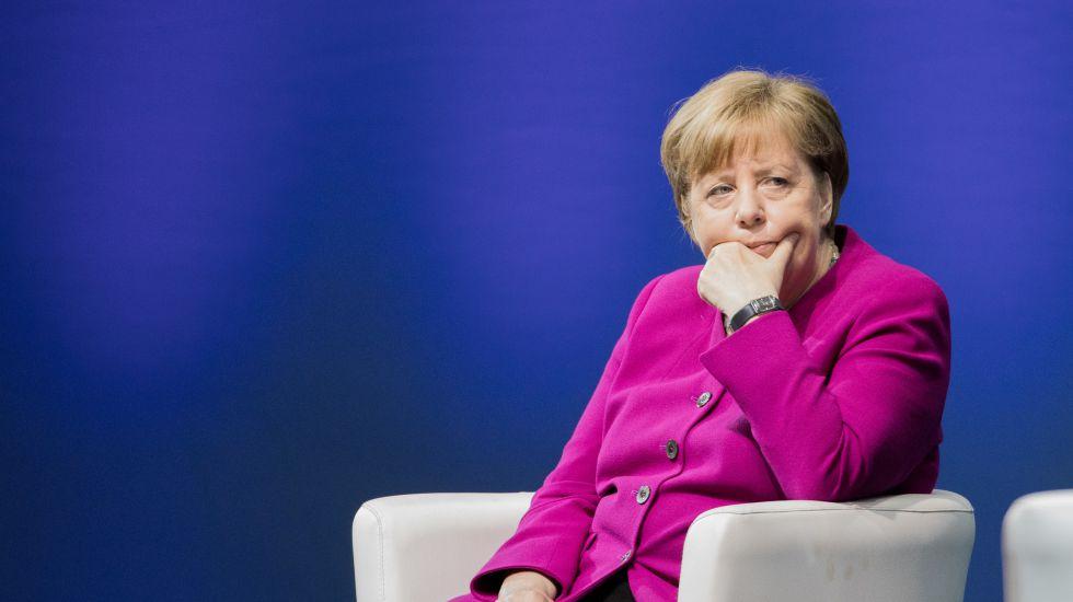 Merkel'den bomba açıklama