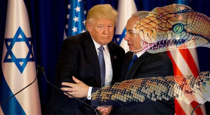 Kasım seçimleri yaklaştıkça Trump karargahı siyon yılanına sarılıyor