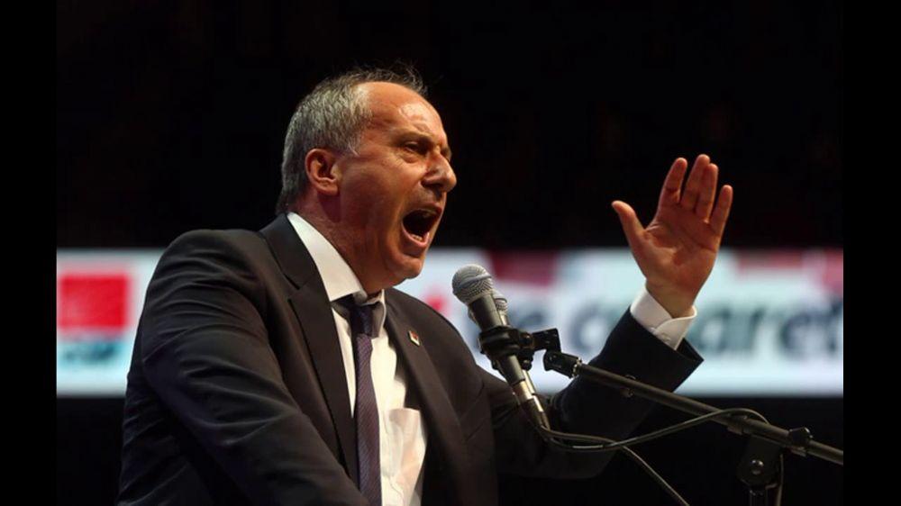 Muharrem İnce yeni parti kursa CHP topu diker