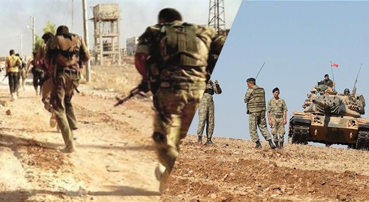 Türkiye, Suriye'ye yığınak yaptı rejim askerleri kaçtı