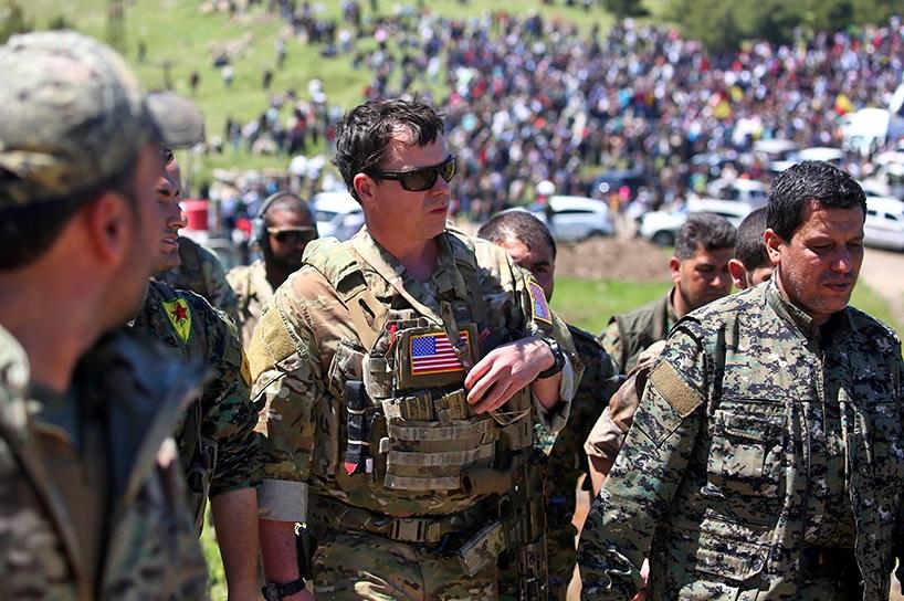 Mündiç ve İdlib derken ABD ve PKK, Deyrizor'a saldırdı