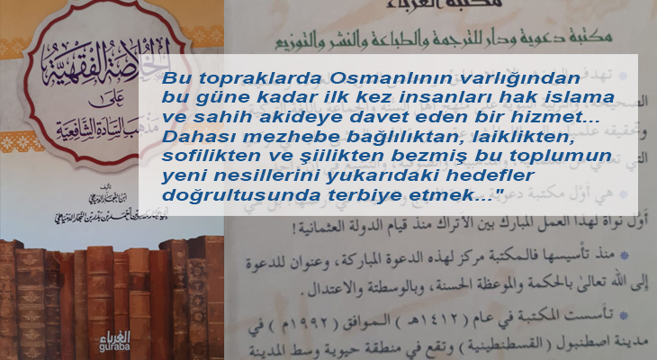 İstanbul'daki Vahhabi yayınevinden Osmanlı ve İslam'a saldırı
