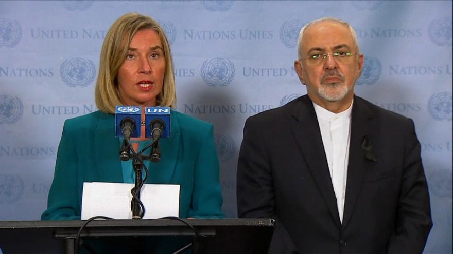 AB, ABD'nin İran yaptırımlarından kurtulmak için yeni bir ödeme sistemi kuracak