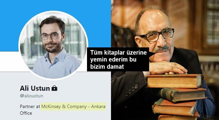 McKinsey'nin Ankara müdürü damat çıktı