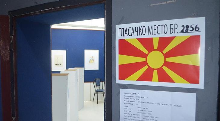 Makedonya halkı sandığa iltifat etmedi