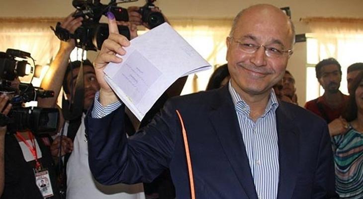 KYB'nin adayı Irak'ın yeni Cumhurbaşkanı oldu