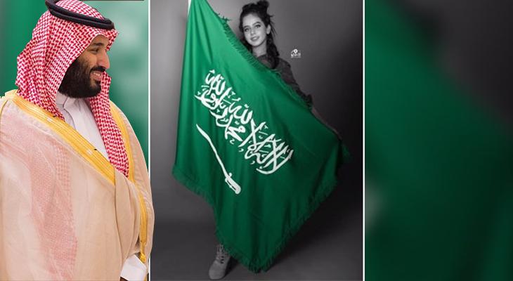 Prens, dansöz oynatarak Arabistan'ı karıştırdı