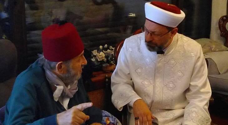 Erdoğan'dan Ali Erbaş'ın Kadir Mısıroğlu ziyareti hakkında açıklama