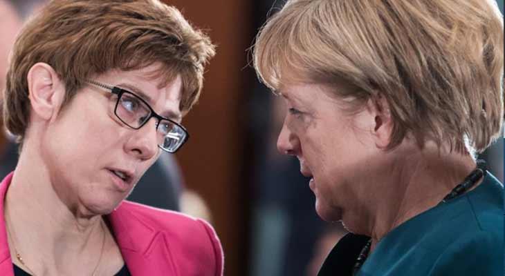 Sahne sırası Merkel-2.0'ın